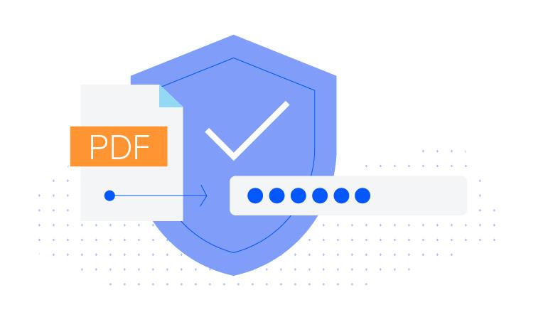 Telerik UI for ASP.NET Core PdfProcessing - Encryption