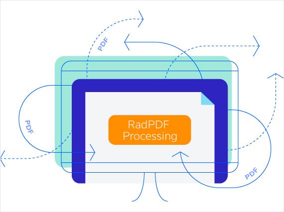 Telerik UI for ASP.NET Core PdfProcessing - Header