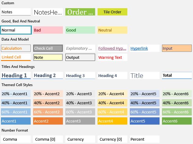 Telerik UI for ASP.NET Core SpreadProcessing - styling