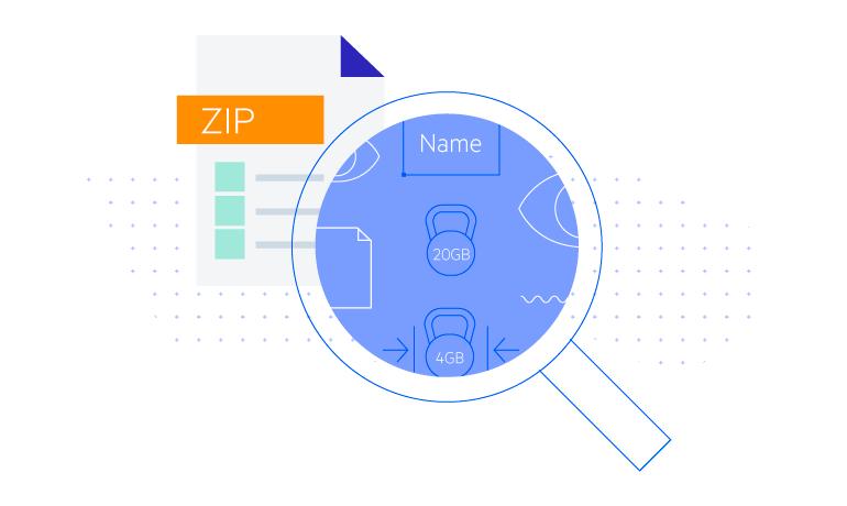 Telerik UI for ASP.NET Core ZipLibrary - load data from Zip files