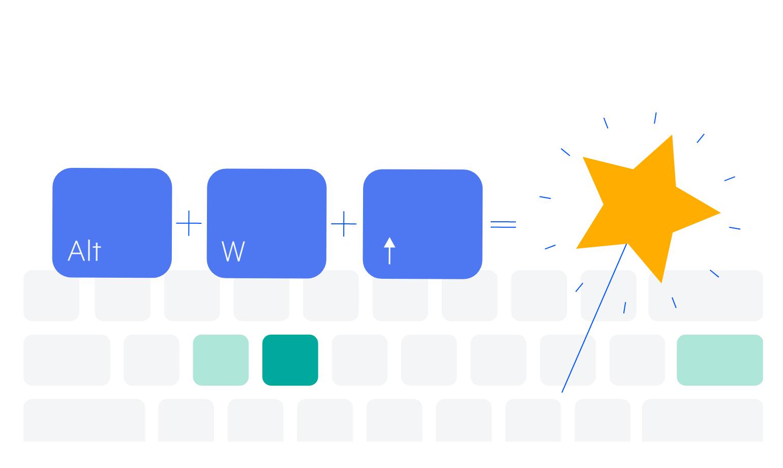 Telerik UI for ASP.NET Core OrgChart Keyboard navigation