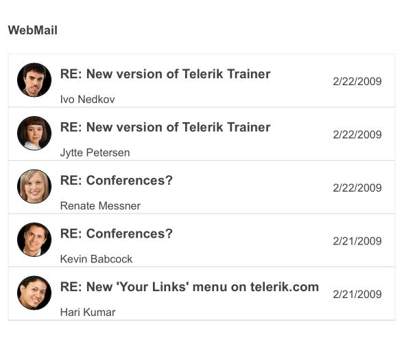 Telerik UI for ASP.NET Core Menu - Context Menu