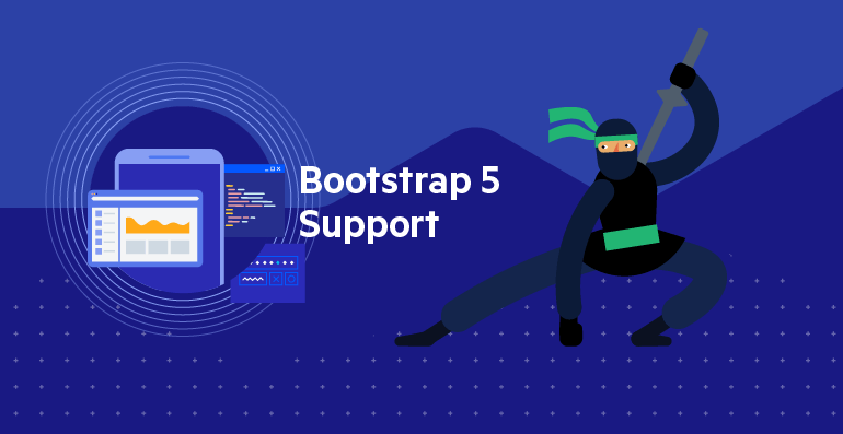 Telerik UI for ASP.NET Core Support for Bootstrap 5