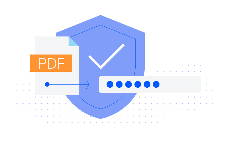 Telerik UI for ASP.NET MVC PdfProcessing - Encryption