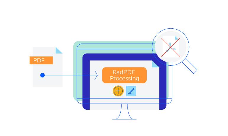 Telerik UI for ASP.NET MVC PdfProcessing - Overview