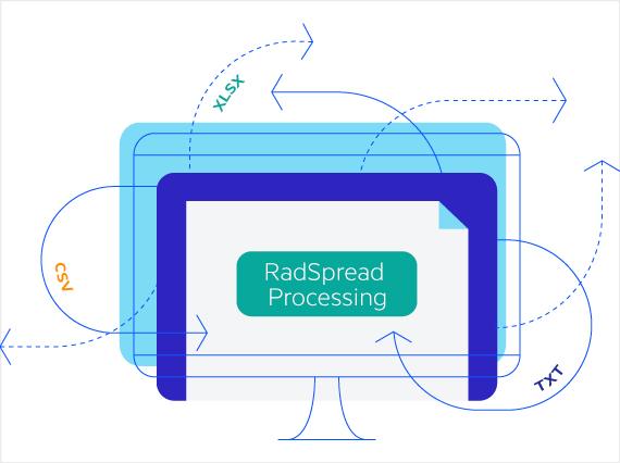 Telerik UI for ASP.NET MVC SpreadProcessing - Header