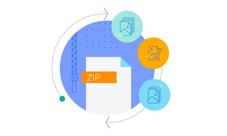 Telerik UI for ASP.NET MVC ZipLibrary - flexible API to create and edit zip files