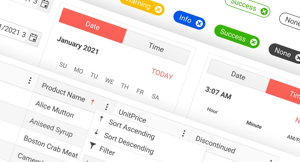 Telerik UI Kits for Figma