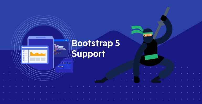 Telerik UI for ASP.NET MVC Support for Bootstrap 5