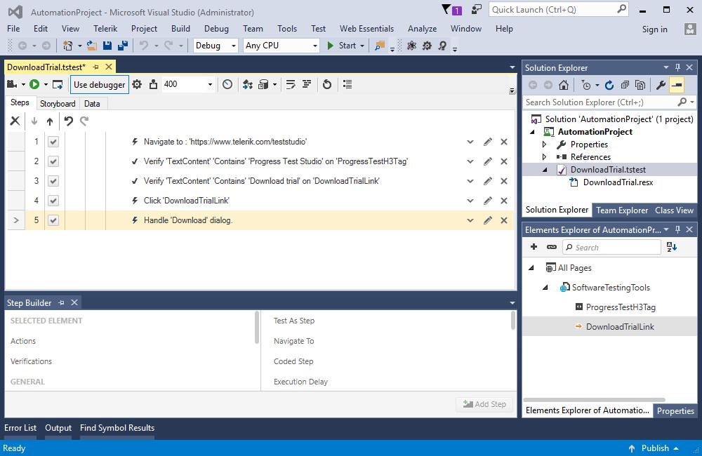 Telerik -  NET, jQuery, Angular UI Developer Tools and Reporting