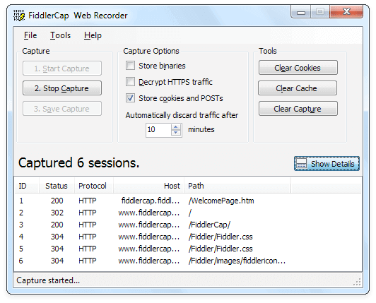 fiddlercap-web-recorder-screenshot