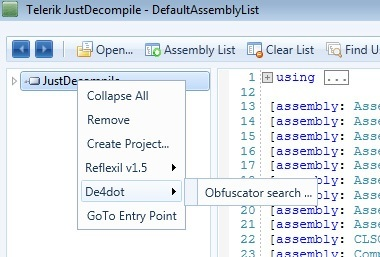 Open Source Extensions and Add-ons for JustDecompile - Telerik