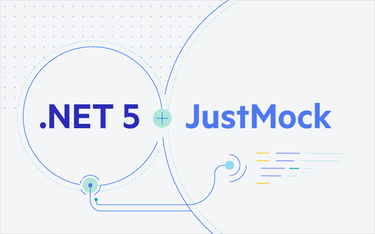 Net 5 and JustMock