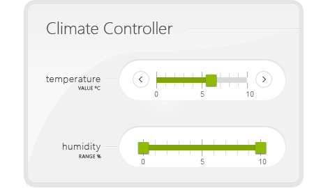 Slider Control Kendo Ui With Support For Jquery