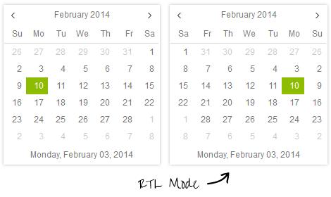 calendar-rtl