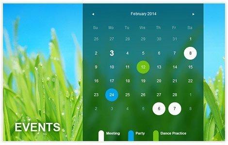 calendar-selection