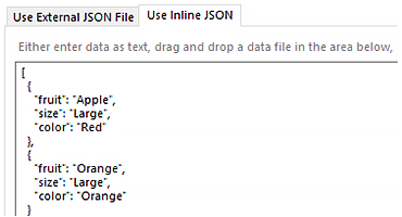 New JSON DataSource Component