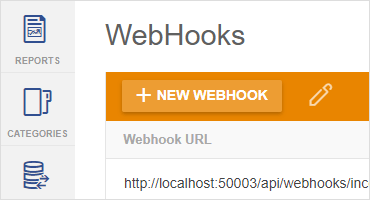 web hooks support in Report Server