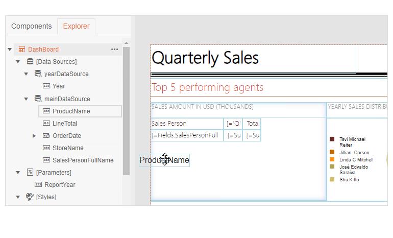 Enhanced Report Designer