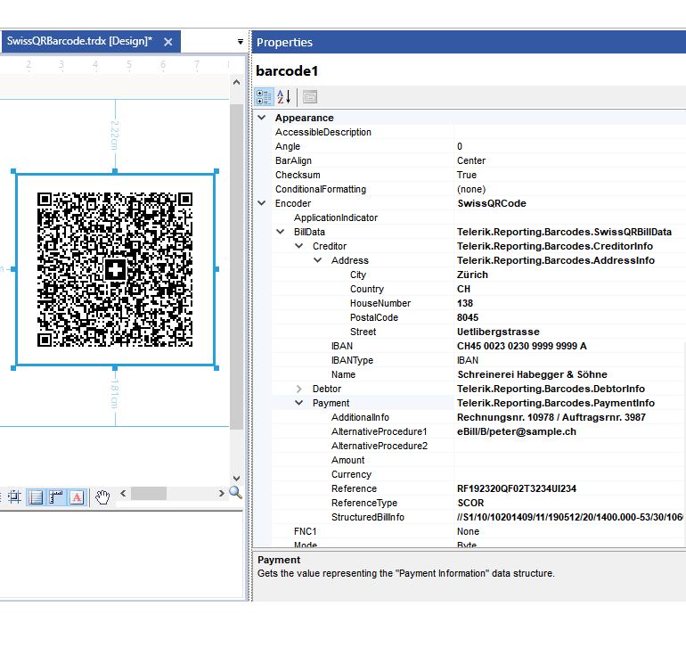 Swiss Barcode Symbology
