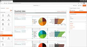Web-based Report Designer Control