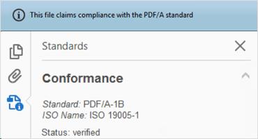 PDF/A Export