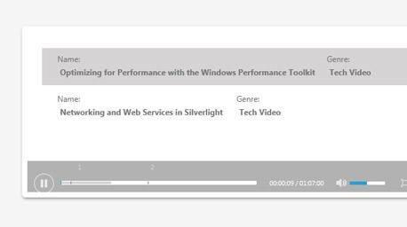 MediaPlayer - Telerik UI for Silverlight - Telerik