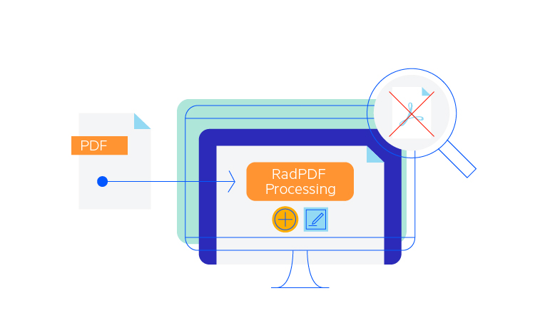 Telerik UI for Blazor PdfProcessing - Overview