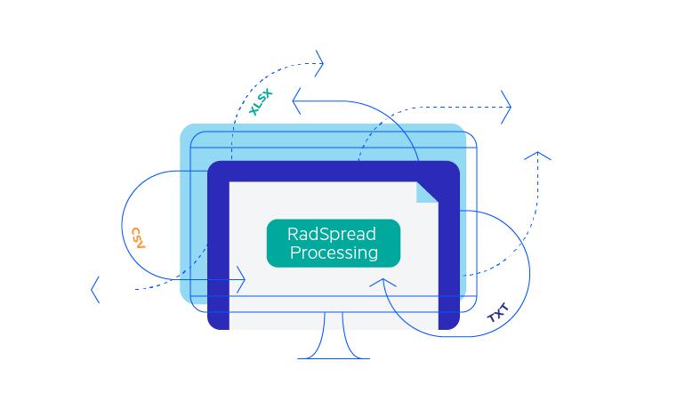 Telerik UI for Blazor SpreadProcessing - Overview