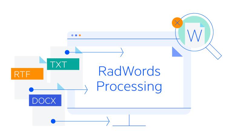 Telerik UI for Blazor WordsProcessing - overview