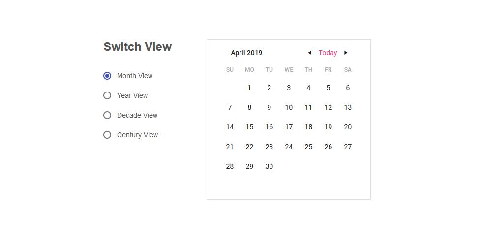 Calendar Material