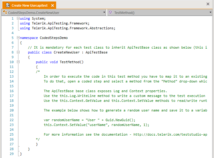 default-code-behind