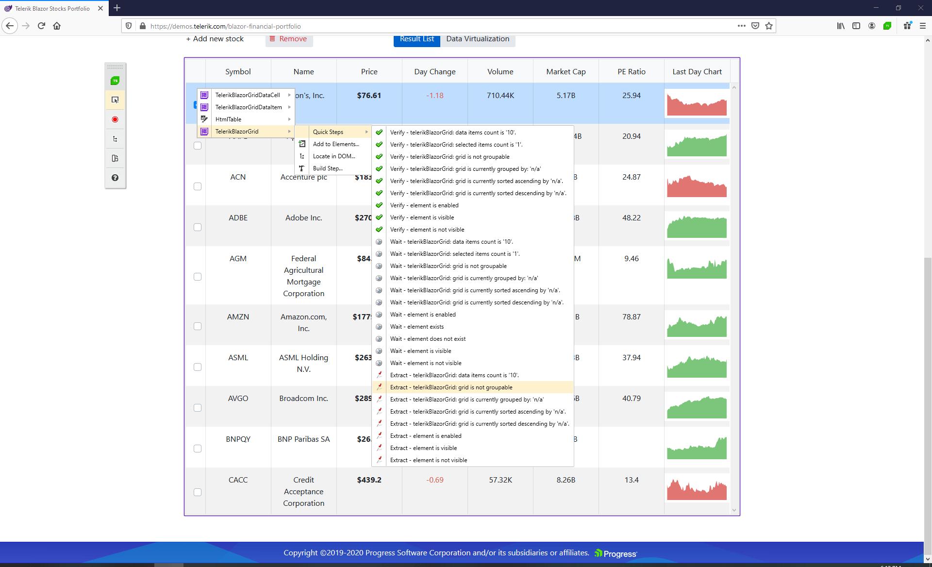 Telerik UI for Blazor Grid Grouping