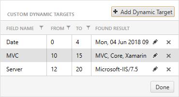 Custom Dynamic Targets in Load Testing