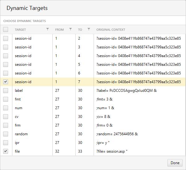 Dynamic Targets Load Testing