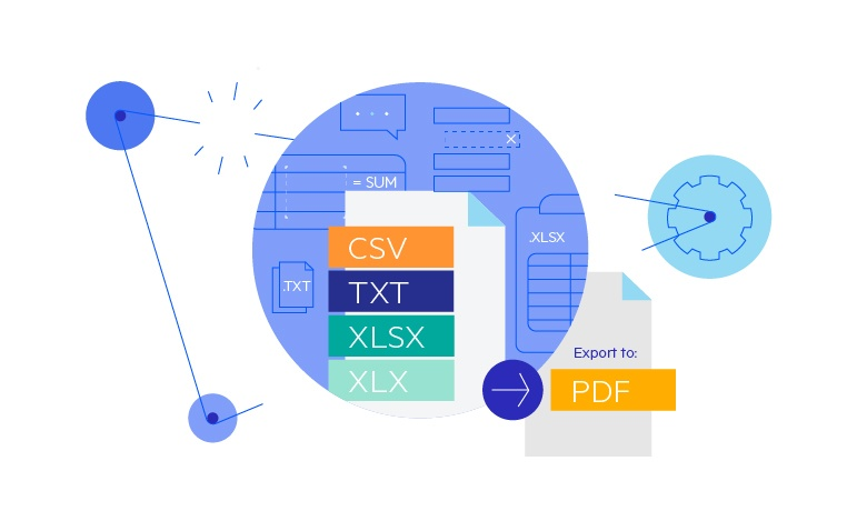 Supported Formats in Xamarin SpreadProcessing Library