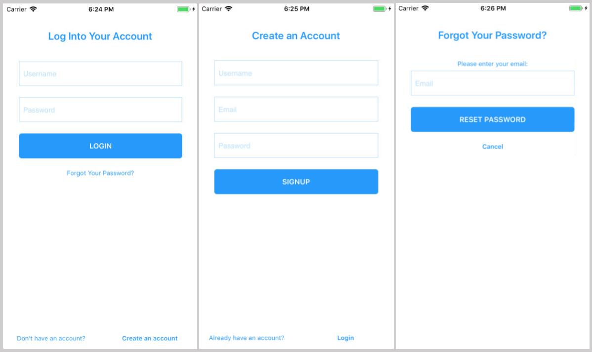 Login Screen Simple