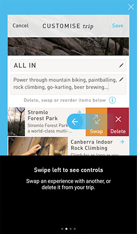 Canberra Trip Planner Application Xamarin Forms Controls App Example 4
