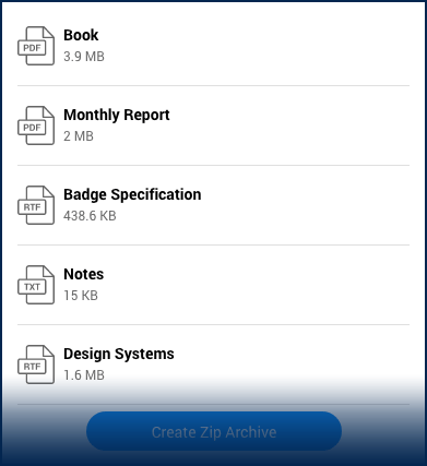 Overview of the Telerik ZipLibrary for Xamarin