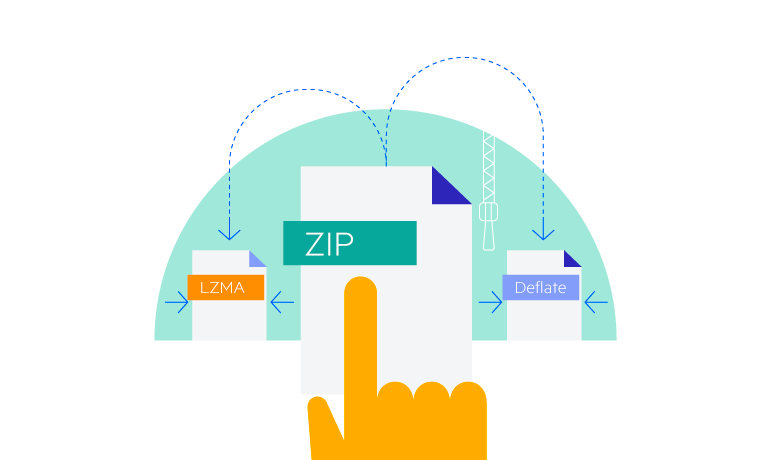 Deflate and LZMA Compression Support in WinForms ZipLibrary