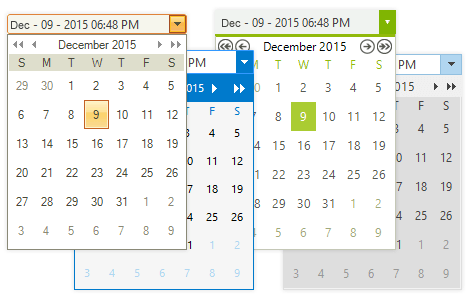 UI for WinForms DateTimePicker Appearance