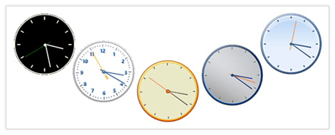 UI for WinForms Clock Appearance