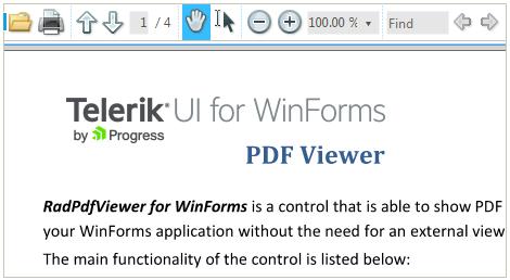 WinForms - Native PDF Viewer