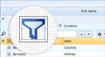 Telerik UI for WinForms - Support for vector images