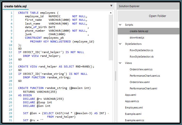 Telerik UI for WinForms Syntax Editor