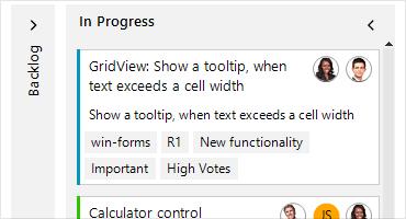 Telerik UI for WinForms Task Board Small Image