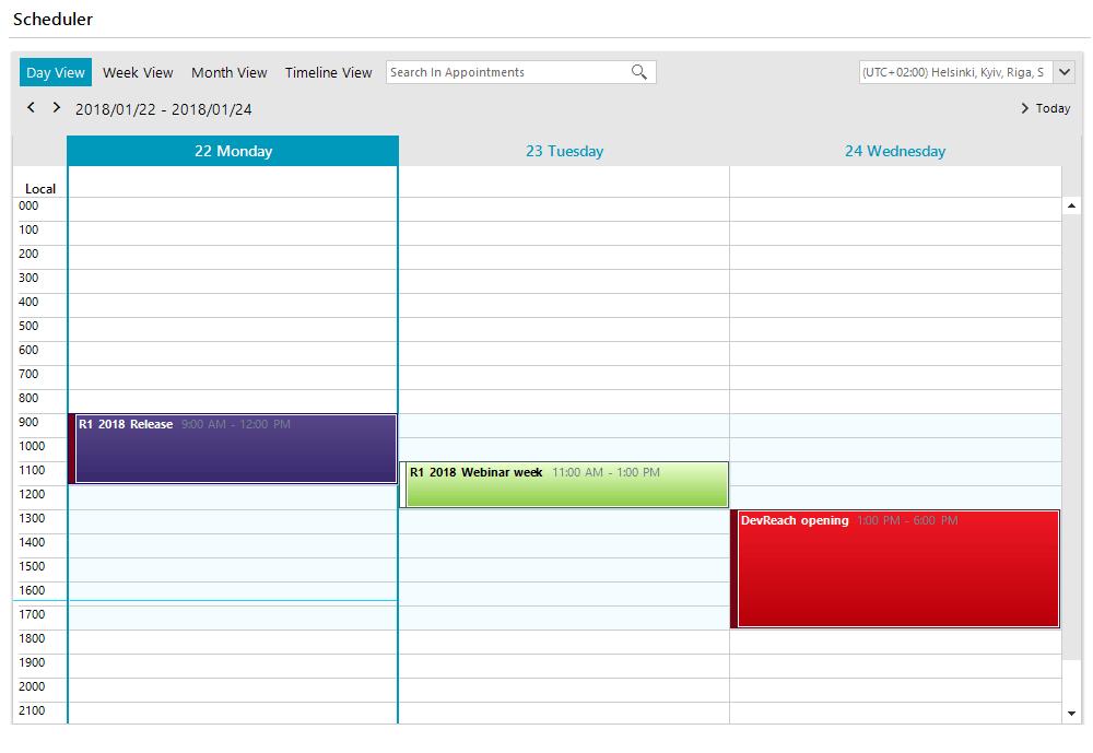 scheduler_fluent