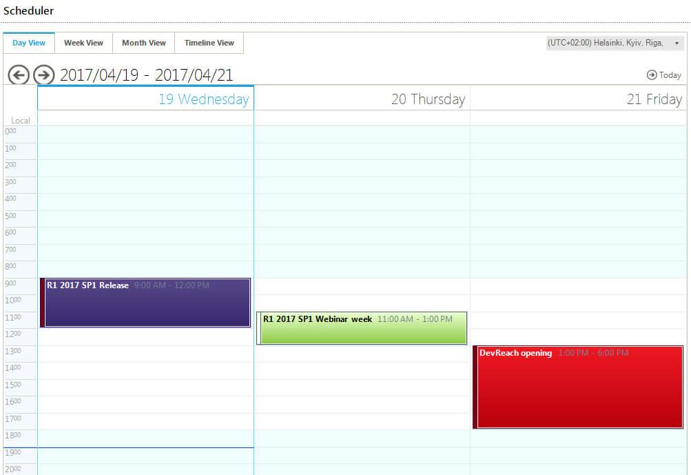 Scheduler_MetroBlue