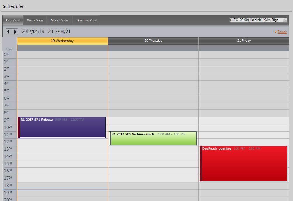 Comprehensive ui toolbox of 130 controls telerik ui for winforms gridview fandeluxe Gallery