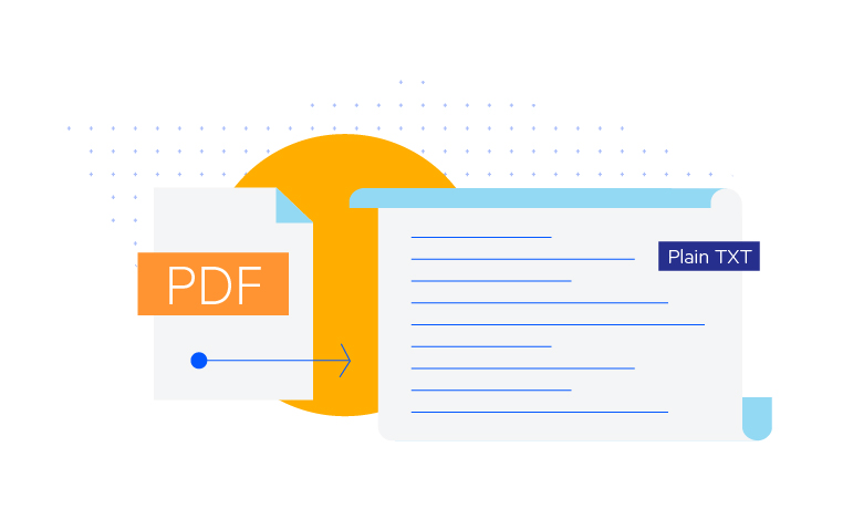 Export to PDF and Plain Text with WinUI PdfProcessing Library